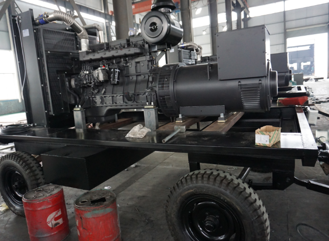 Active Power and Reactive Power of Diesel Generator Set