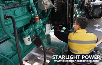 Starlight Diesel Generator Set Assembly Work Instruction