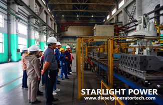 Starlight Nanning Branch Leaders and Staff Visited Yuchai Factory