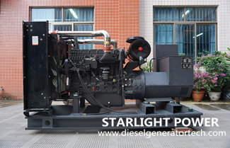 Starlight Company Sold 400kw Shangchai Diesel Genset to Huaibei Dixiang New Materials Company