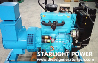 Working Conditions of Weichai Diesel Engine for Power Generation