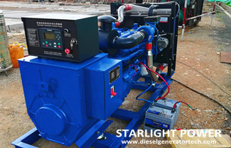 Maintenance of Generator Set Battery