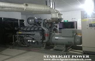 The Method of Emergency Shutdown of Diesel Generator