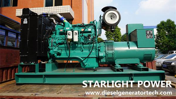 300KW Cummins Silent Diesel Generator Set