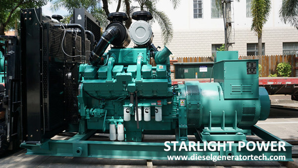 Export 350KW & 640KW Cummins Generator to Liberia