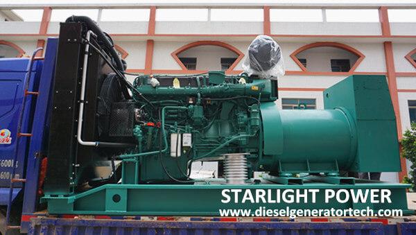 Export Volvo Diesel Generator to Tajikistan