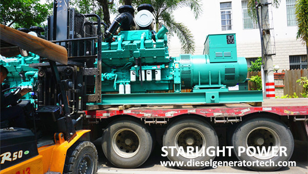 Export 4 Units Cummins Diesel Power Generators Tanzania