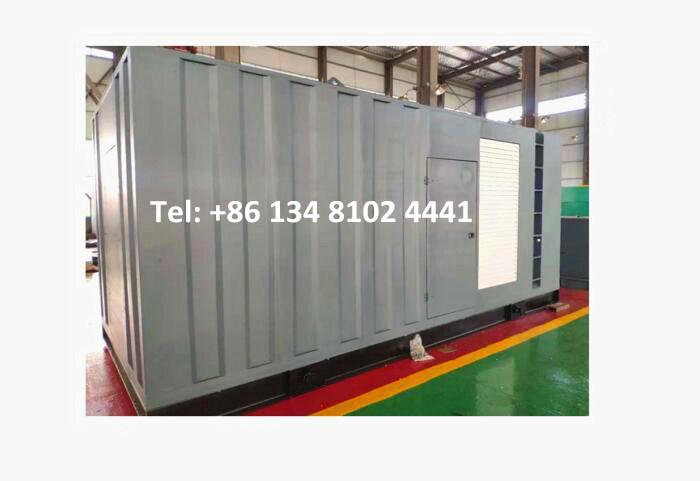 700KW 875KVA Super Silent Containerized Diesel Generator Set