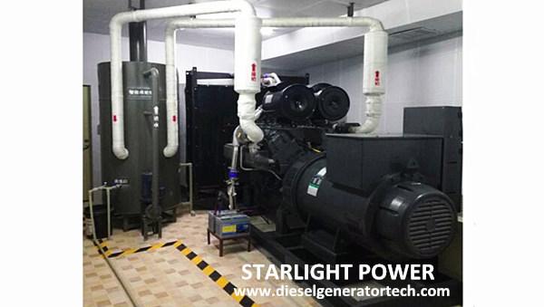 800KVA Shangchai Diesel Generator Used in Airport