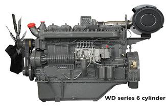 Wuxi WD Series Engine Power for 235-730kw Diesel Generator