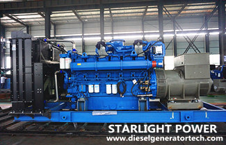 Characteristics of In-line and V Type Diesel Generator Set