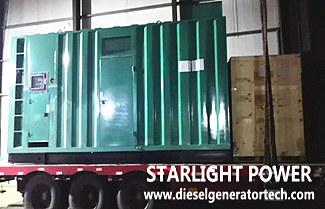 Export 800kva Cummins Diesel Generator to Thailand