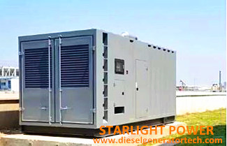 Requirements for the Use of Coolant for Diesel Generator Set