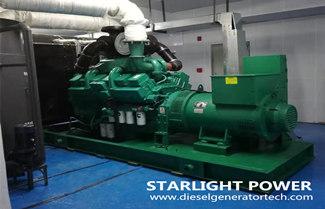 Storage of Temporarily Unused Diesel Generator Set