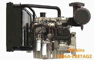 250KVA Perkins 1506A-E88TAG2 Standby Generator