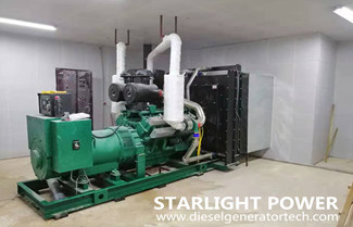 How to Control Sand for 600kw Diesel Generator Set in Desert Area?