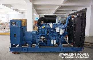 Starlight Signed Contract of 400kw Yuchai Diesel Generator Set