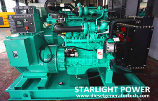 Yuchai 4D24/4D24T Power Generation Engine Operation