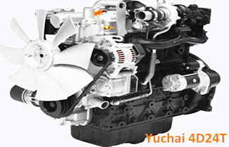 Yuchai 4D24/4D24T Engine Exhaust White and Blue Smoke
