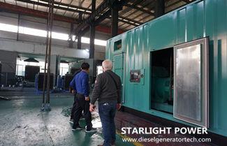 Japanese Customer Visited Starlight Power Generator Factory
