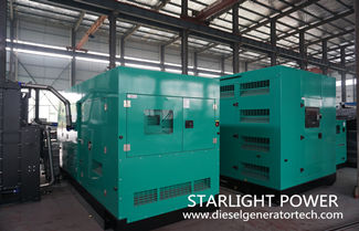 Common Failure Types of Cylinder of Silent 350kW Generator Set