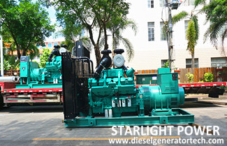 Starlight Cummins Diesel Generators Used in Real Estate