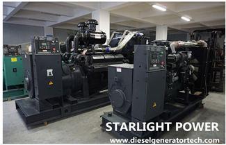 Starlight Successfully Signed 300kW Shangchai Diesel Generator Set