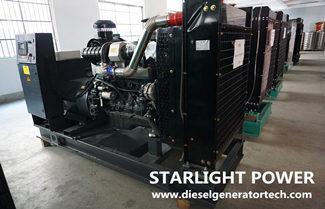 150kw Shangchai Diesel Generator Set Technical Specifications