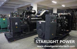 750kw Shangchai Diesel Generator Set Technical Specifications