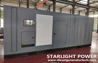 Starlight 800KW Container Silent Generator Set Exported to Thailand