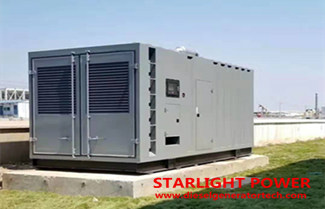 800KW Cummins Diesel Generator Set Technical Specifications