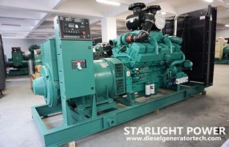 Specifications of Cummins AC Diesel Generator Set 800KVA
