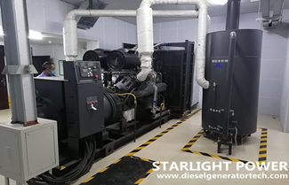 Starlight 720KW Diesel Generator Set for Real Estate Project