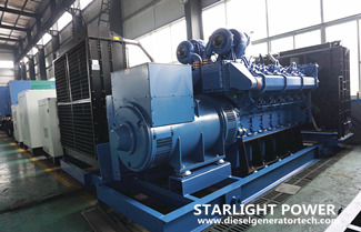 2000KW Yuchai Engine YC16VC3300-D31 Generator Set