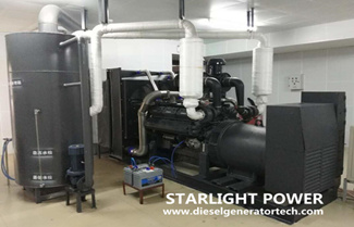 The Eighth Cooperation: Shangchai 800KW Generator Set