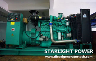 Technical Specifications for 300KW DCEC Cummins Generator Set