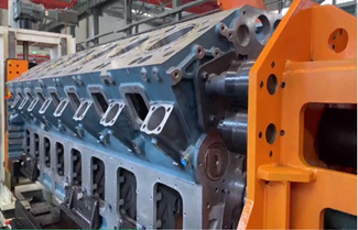 Yuchai Launches V Type 20 Cylinders Series Diesel Engine