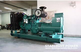 Starlight Sold 250KW 300KW Cummins Diesel Generator Set(4 Sets)