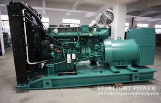 Technical Specifications of Volvo 250KW Generator Set(TAD1341GE)
