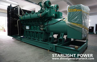Starlight Power Won the Bid of 1300KW Yuchai Diesel Generator Set