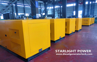 Starlight Signed Contract of 2 Sets 50KW Silent Generator Set