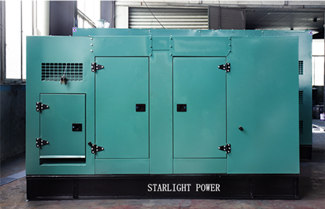 Starlight Exported 2 sets of 200KVA Silent Genset to Congo