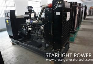 Starlight Power Signed 100KW Shangchai Diesel Generator Set