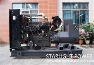 Starlight Power Signed 2 Yuchai Diesel Generator Sets