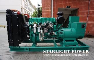 Analysis of Diesel Generator Set Starter Working Failure